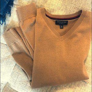 Banana Republic Men's Merino Wool V-Neck Sweater